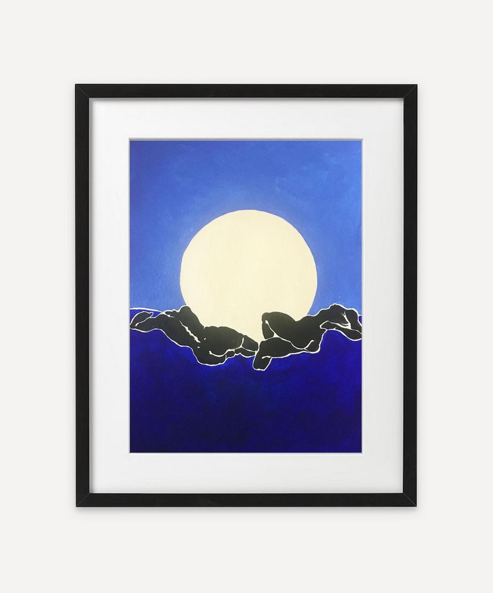 Rebecca Howarth - Blue Horizon Framed Original Painting