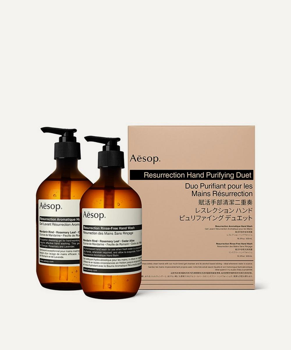 Aesop - Resurrection Purifying Hand Duet 2 x 500ml