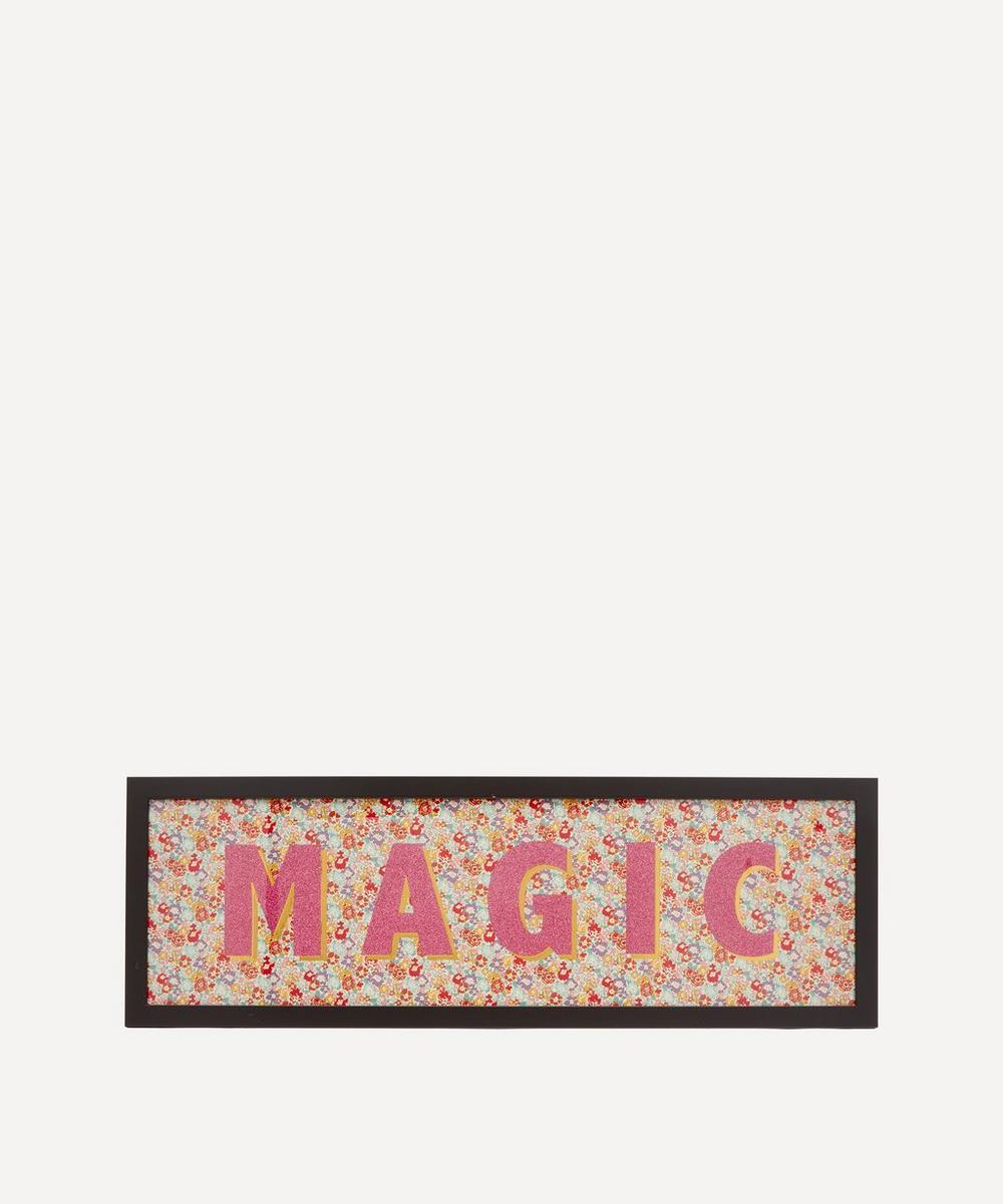 Catherine Colebrook - Magic Liberty Fabric Framed Print
