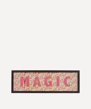 Magic Liberty Fabric Framed Print