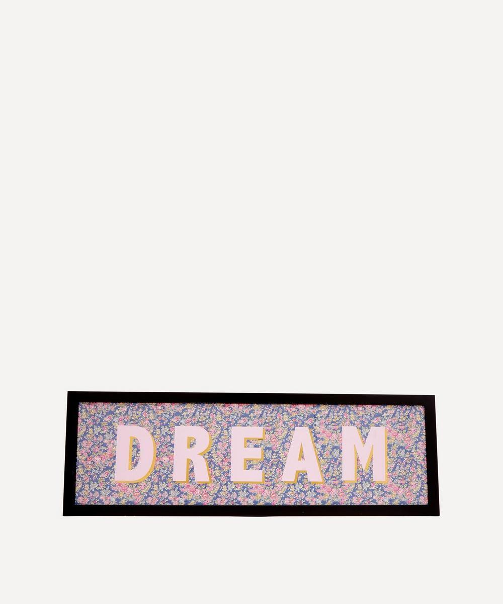 Catherine Colebrook - Dream Liberty Fabric Framed Print
