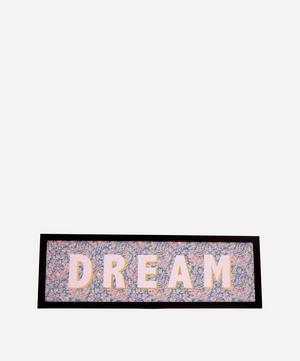 Dream Liberty Fabric Framed Print