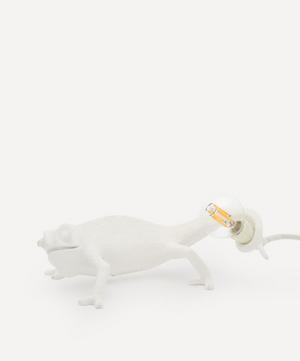 Going Up Chameleon Lamp