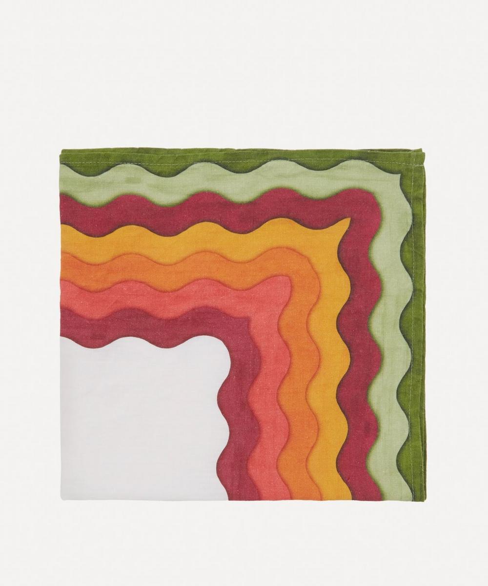 Summerill & Bishop - Winter Rainbow Linen Napkin