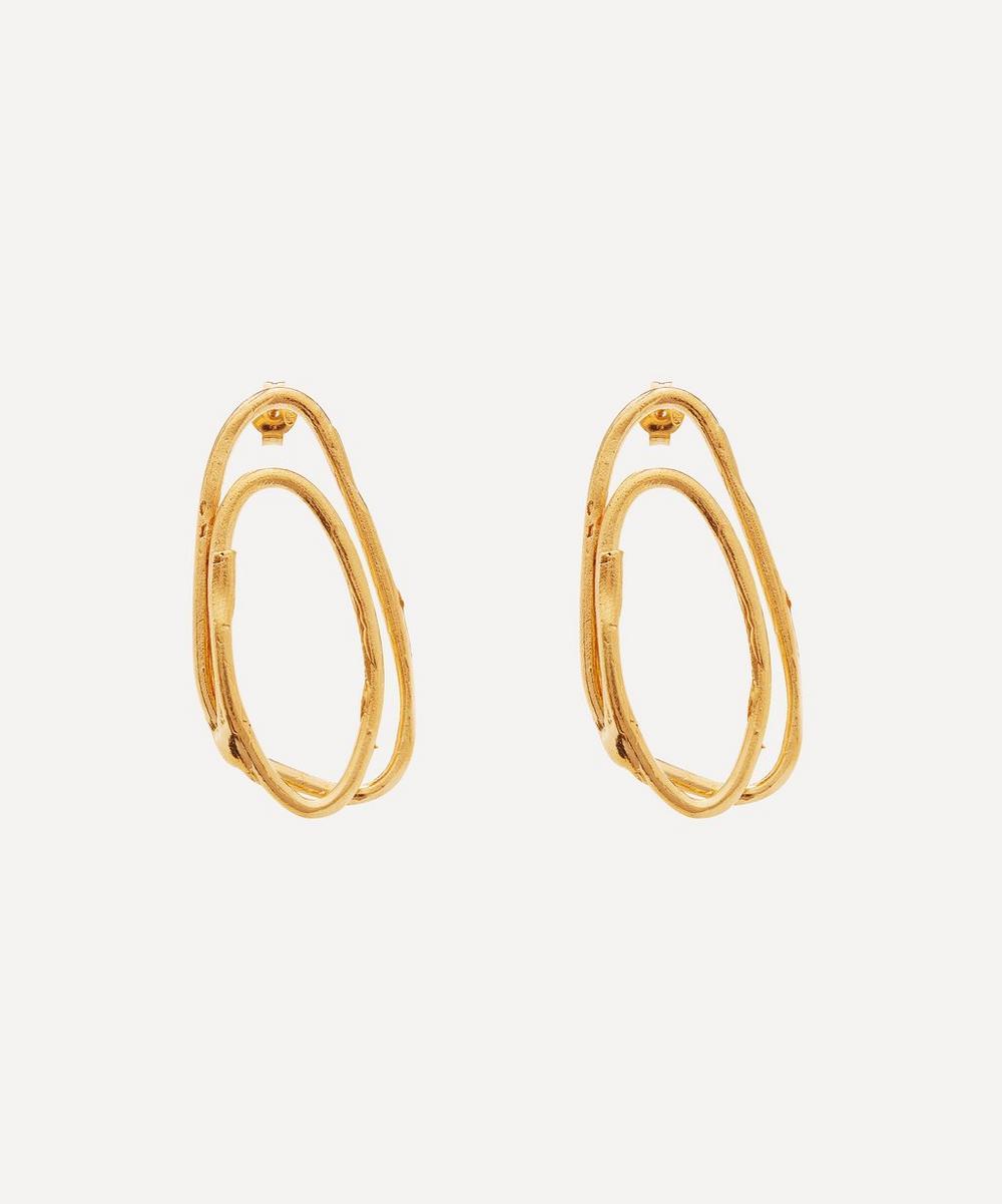 Alighieri - Gold-Plated The Rhymes of Love Drop Earrings