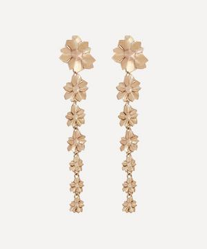 9ct Gold Handmade Ianthe Star Earrings
