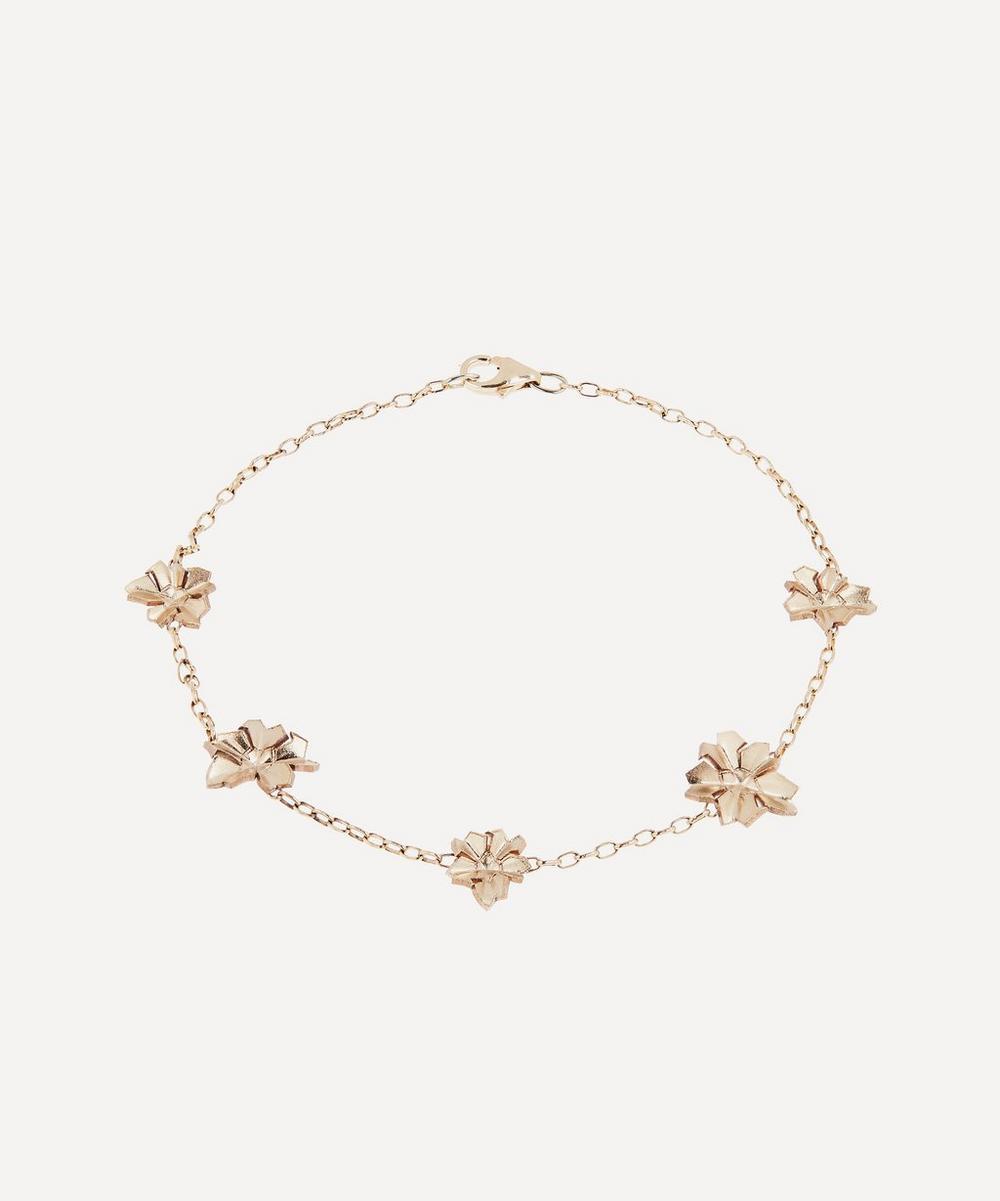 Liberty - Gold Handmade Ianthe Star Bracelet