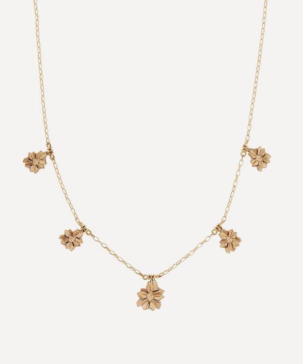 Liberty - 9ct Gold Handmade Ianthe Star Necklace