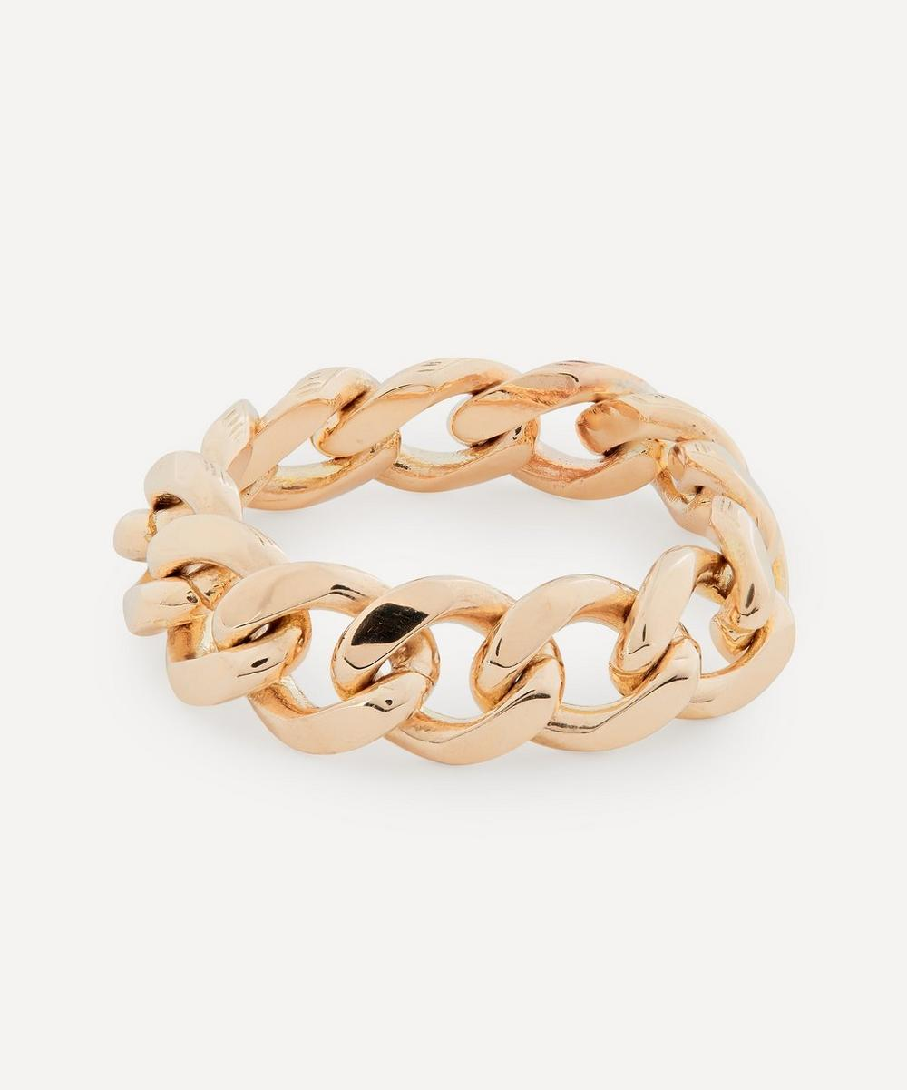 Roxanne First - Gold Chain Ring