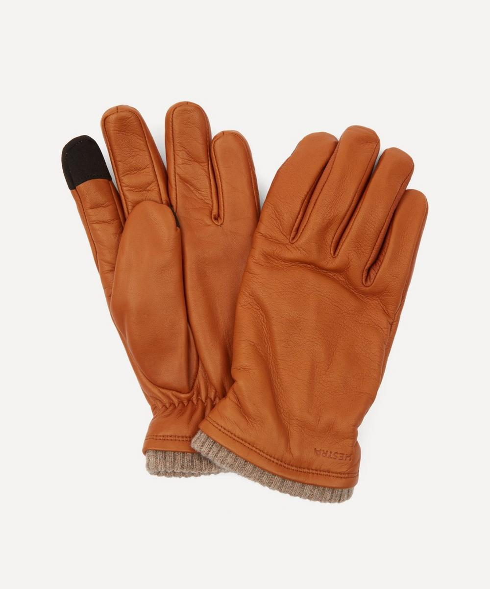 Hestra - John Leather Touchscreen Gloves image number 0