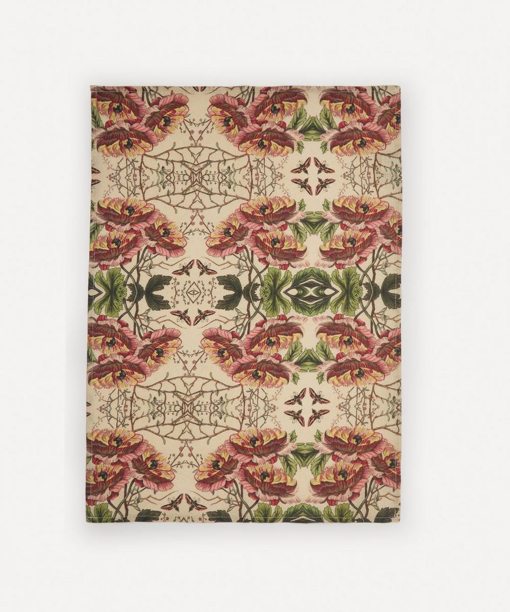 Avenida Home - Poppy Linen Tea Towel