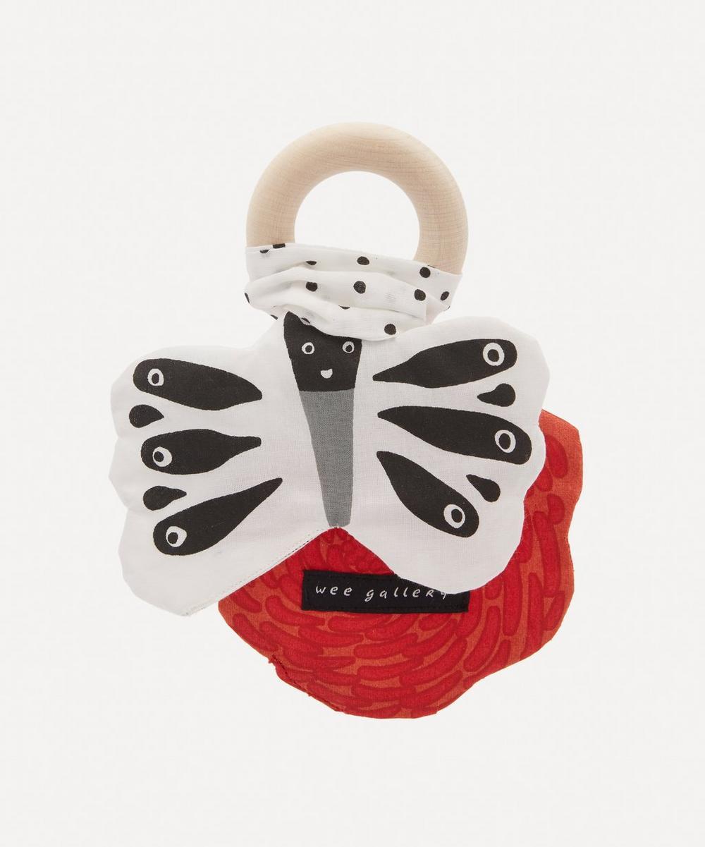 Wee Gallery - Butterfly Crinkle Teether