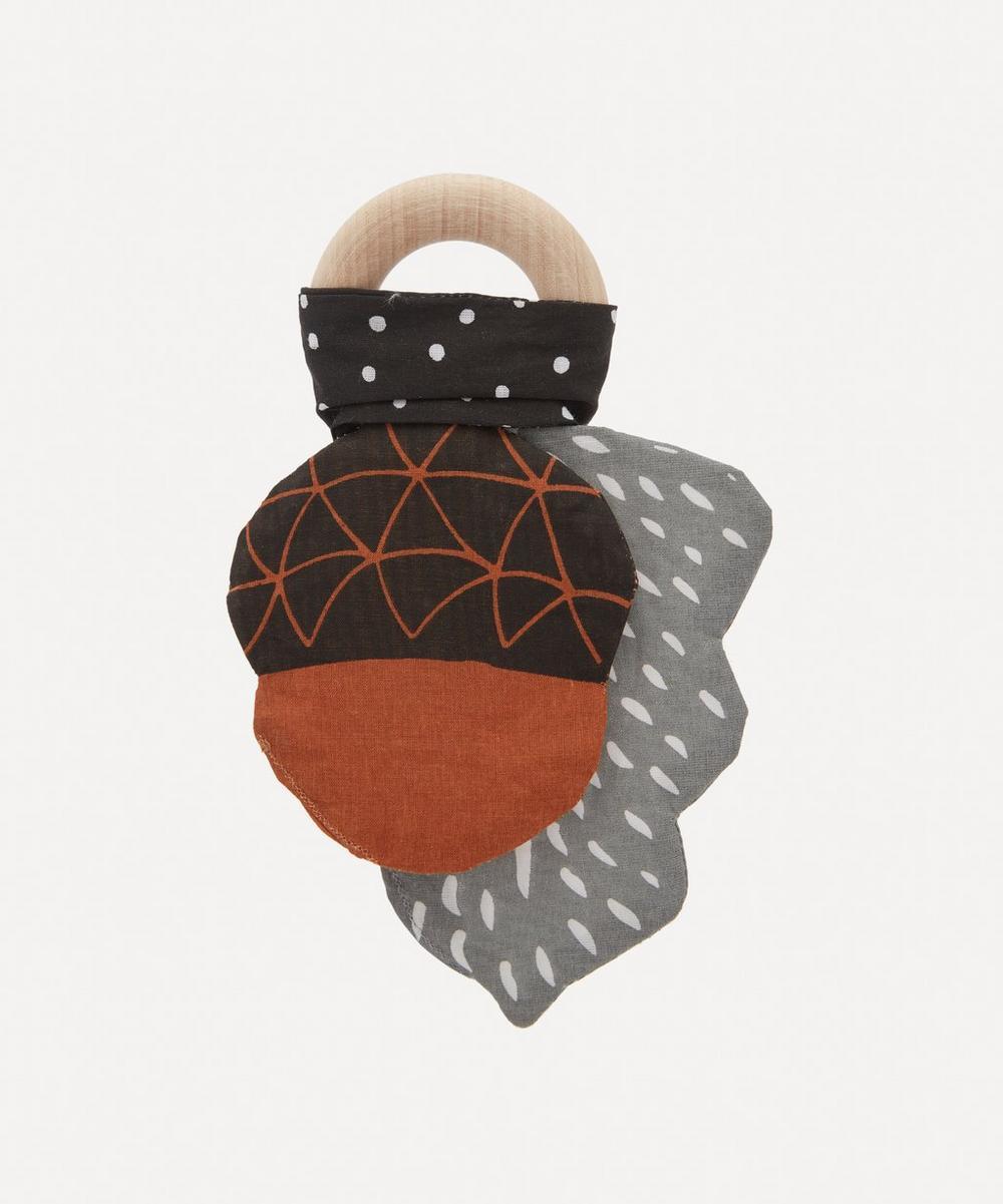 Wee Gallery - Acorn Crinkle Teether
