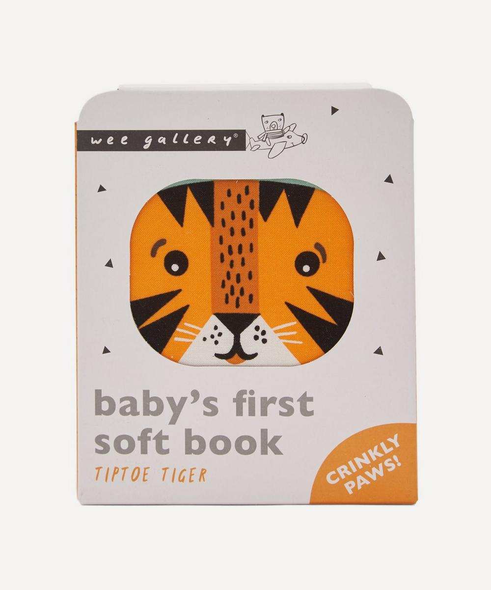 Wee Gallery - Tip Toe Tiger - Baby's First Soft Book