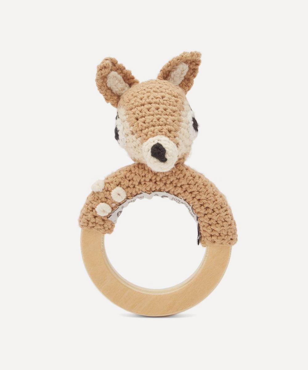 Sebra - Dixie On Ring Crochet Rattle