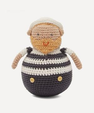Crochet Sailor Tilting Toy
