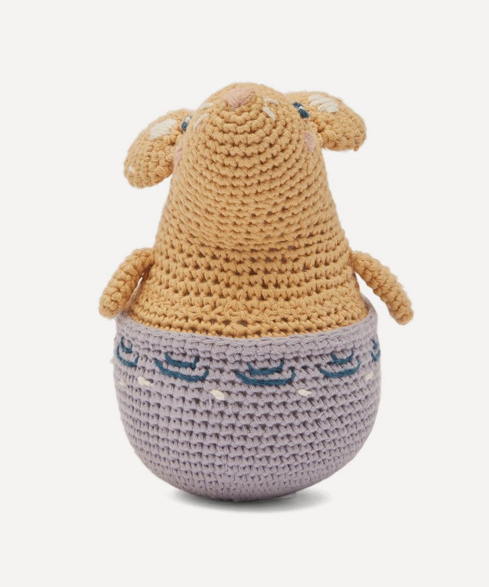 Sebra - Crochet Buttercup The Mouse Tilting Toy