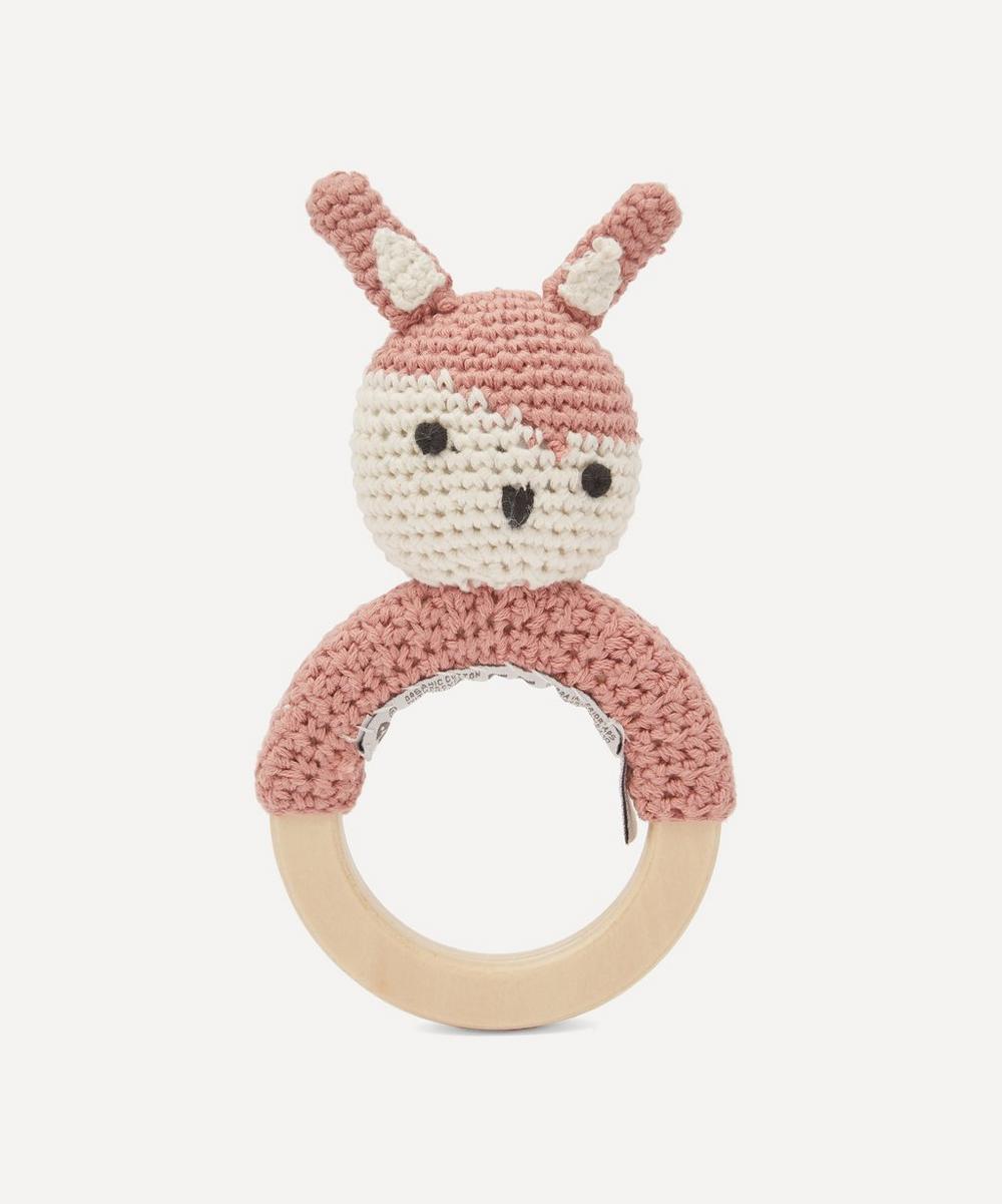 Sebra - Siggy On Ring Crochet Rattle