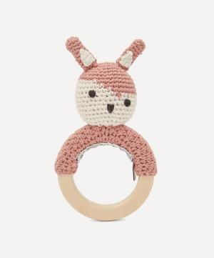 Siggy On Ring Crochet Rattle