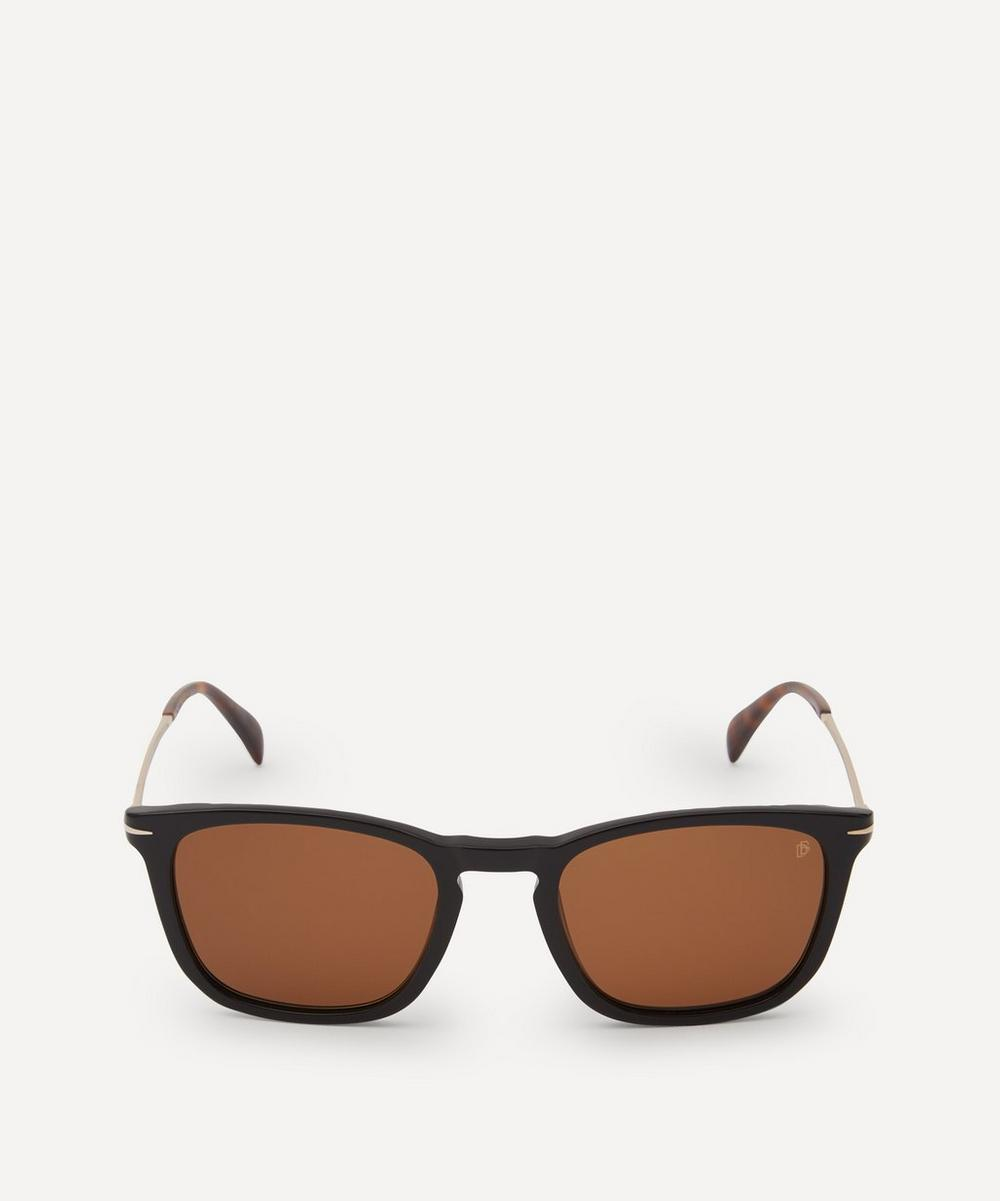 Eyewear by David Beckham - Square-Frame Acetate and Metal Sunglasses
