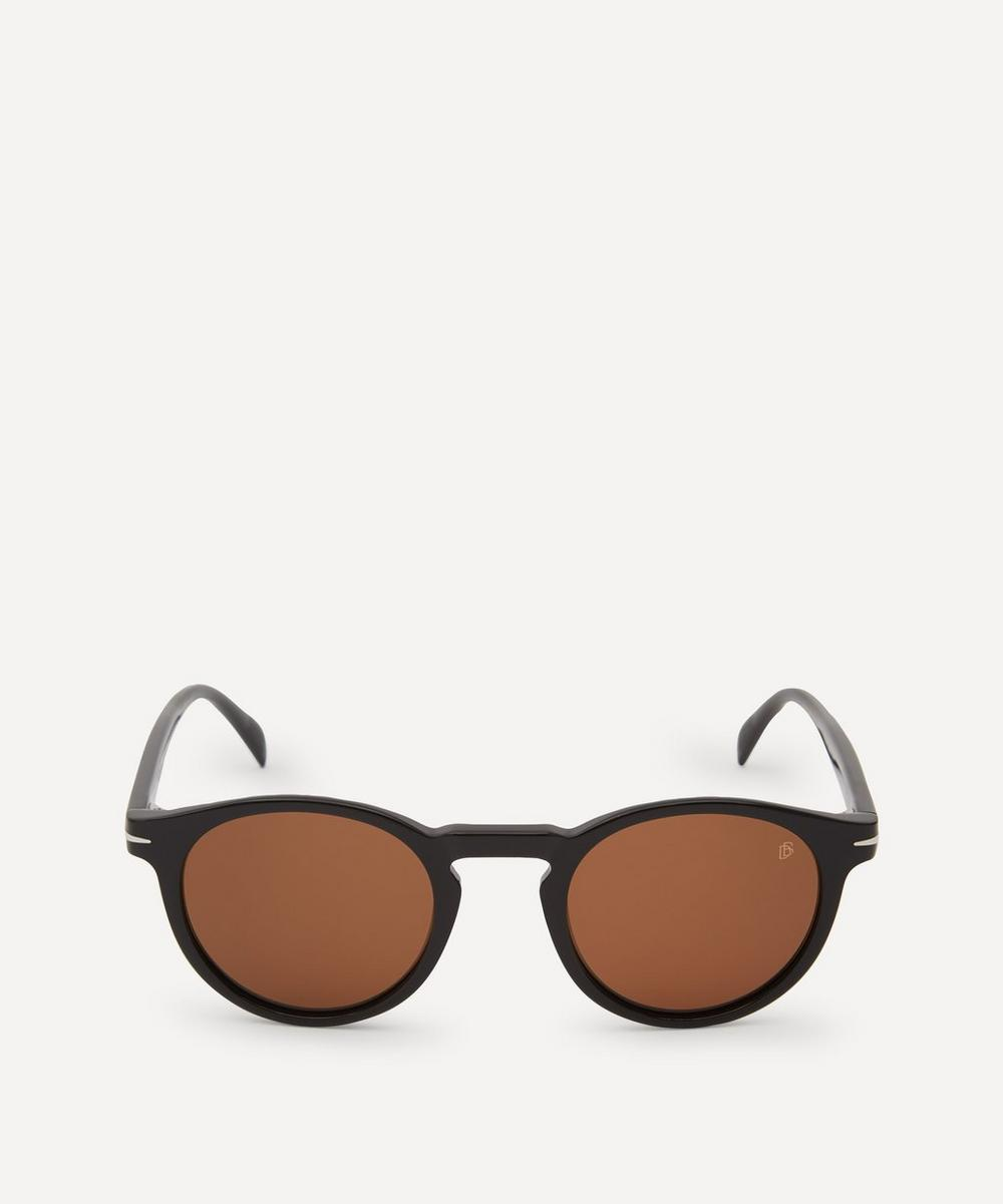 Eyewear by David Beckham - Round-Frame Acetate Sunglasses