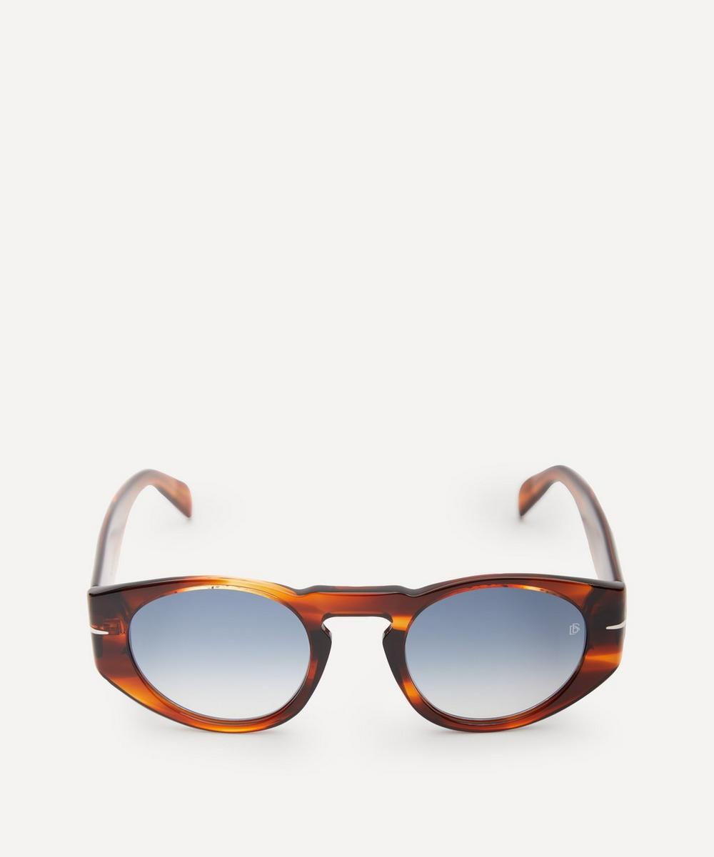 Eyewear by David Beckham - Oval-Frame Acetate Sunglasses
