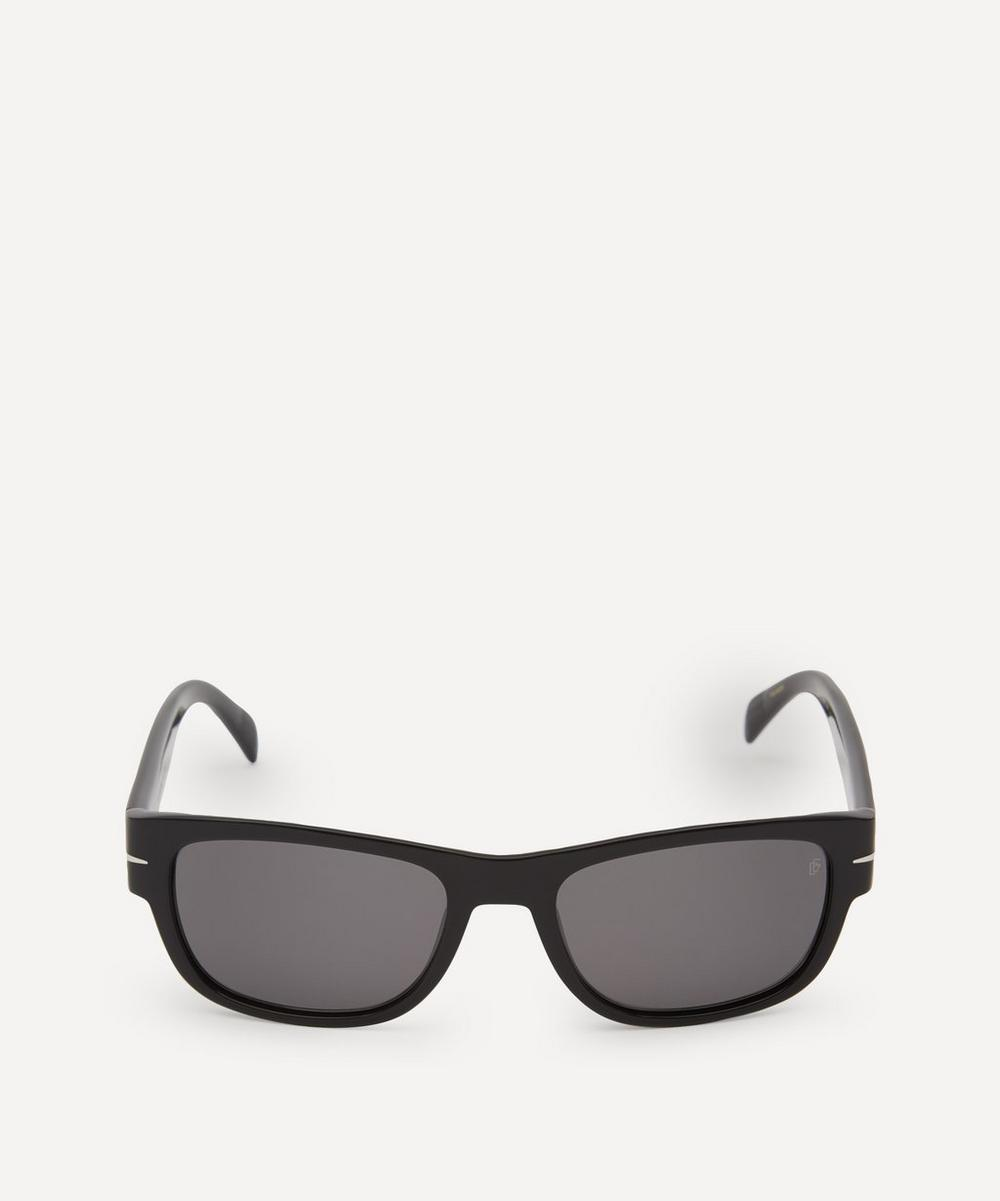 Eyewear by David Beckham - Rectangular-Frame Acetate Sunglasses