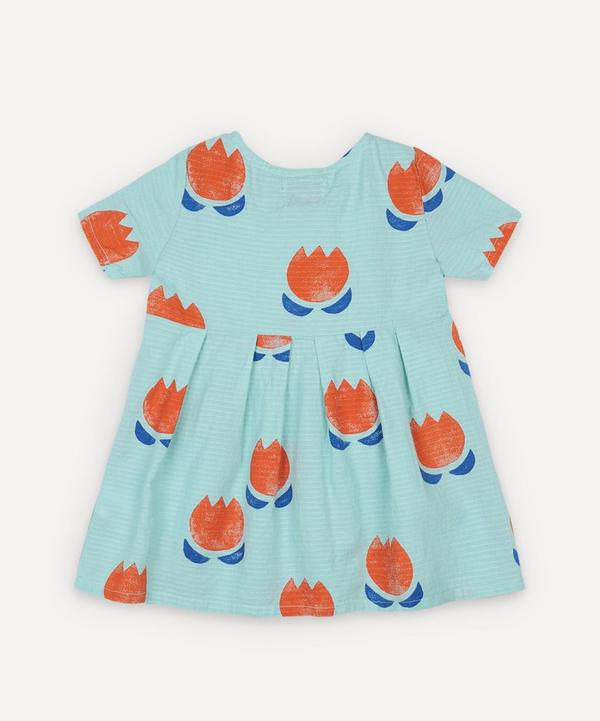 Bobo Choses - Chocolate Flowers Woven Dress 3-24 Months