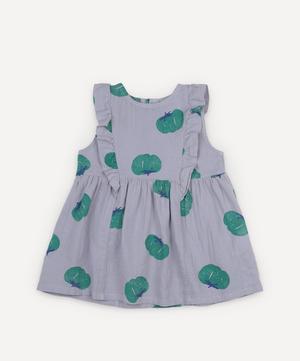 Tomato Ruffle Woven Dress 3-24 Months