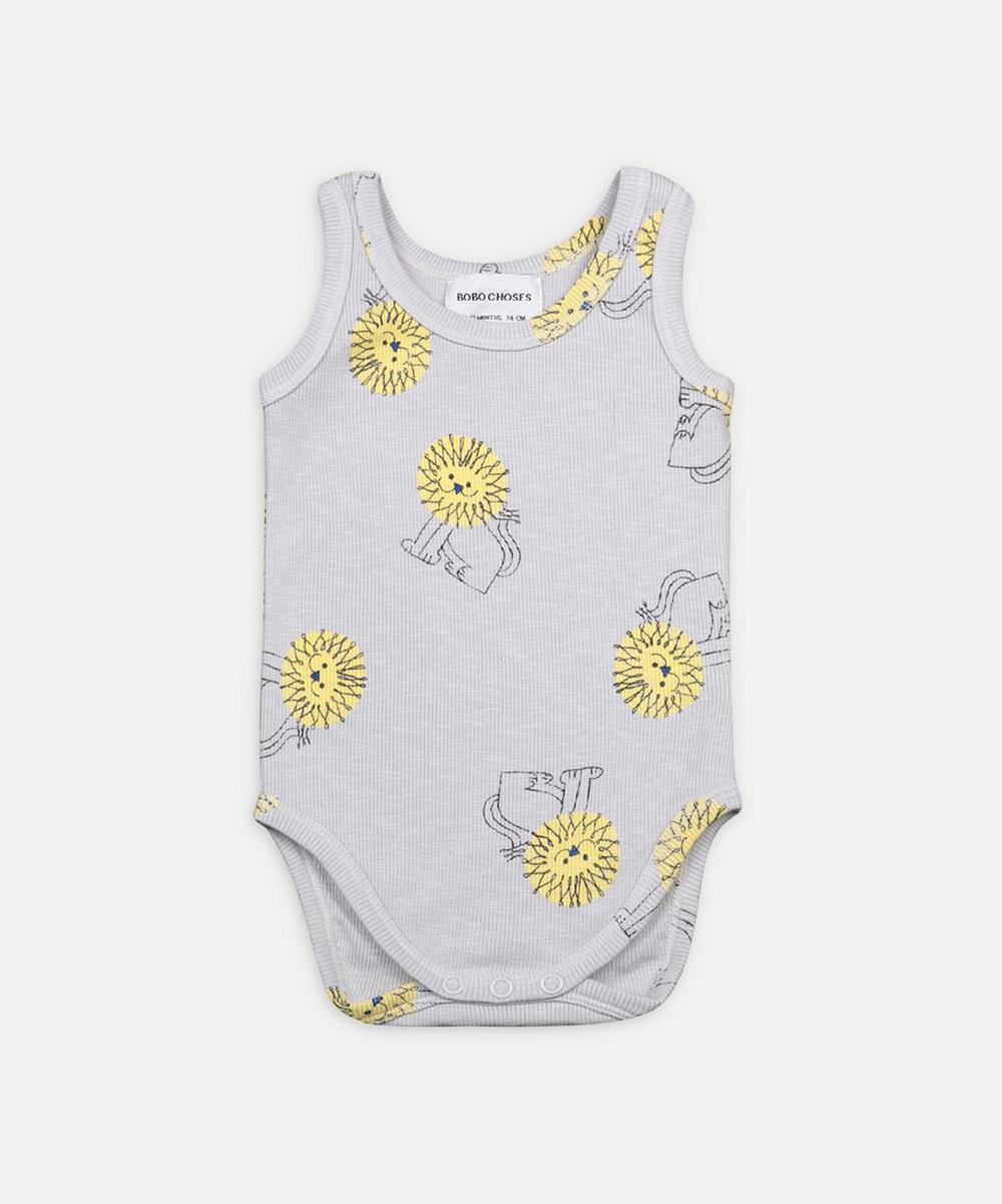 Bobo Choses - Pet a Lion Sleeveless Bodysuit 3-24 Months