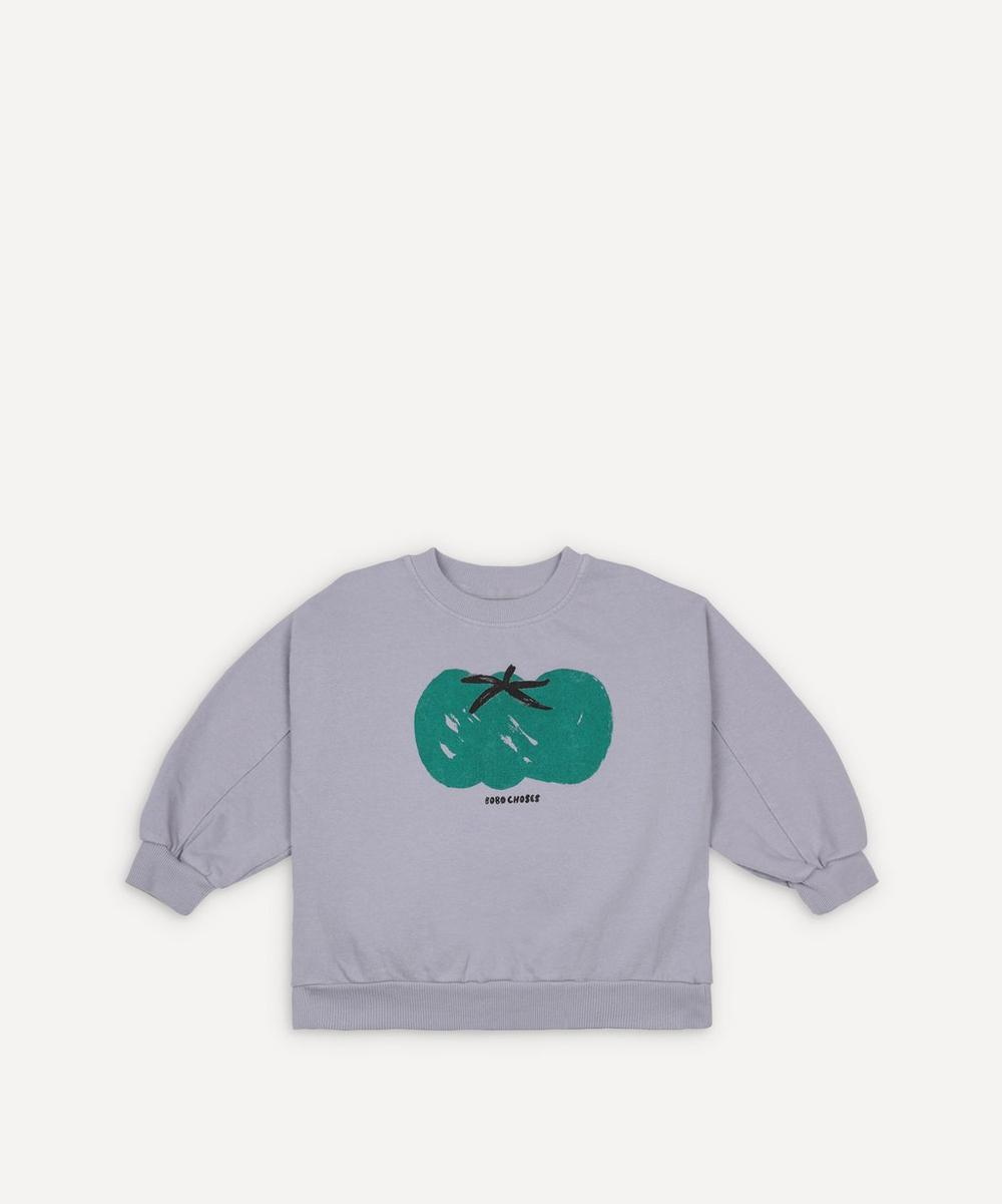 Bobo Choses - Tomato Cotton Sweatshirt 2-8 Years