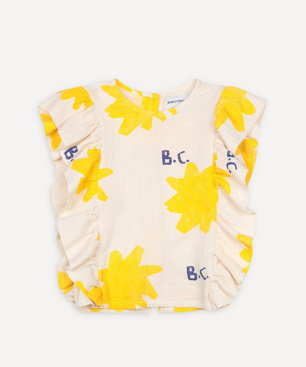 Bobo Choses - Sparkle All Over Ruffle Woven Top 2-8 Years