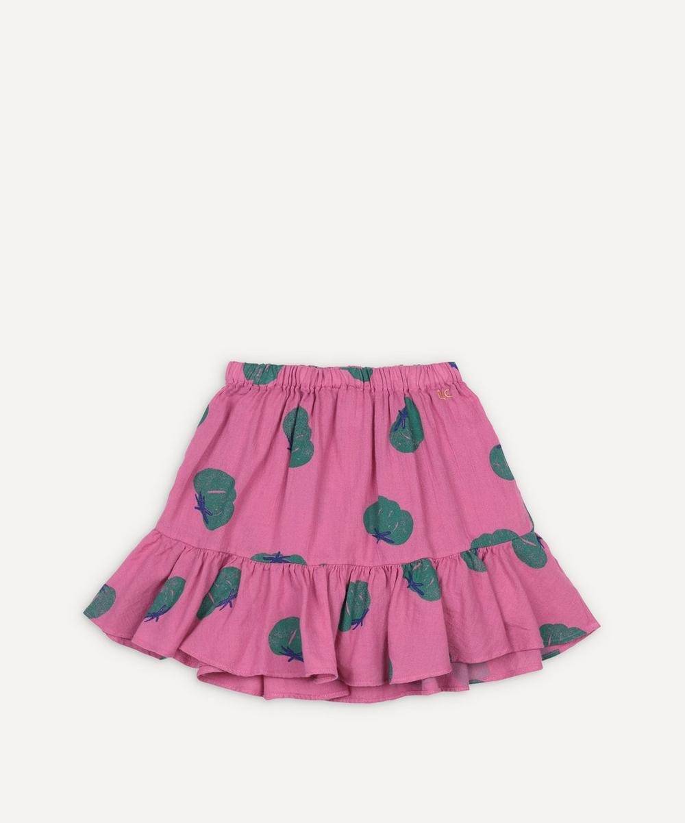 Bobo Choses - Tomato All Over Woven Ruffle Skirt 2-8 Years