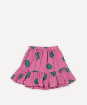 Tomato All Over Woven Ruffle Skirt 2-8 Years