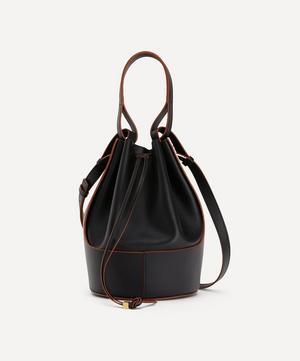 Balloon Leather Bucket Bag
