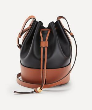 Small Balloon Leather Bucket Bag