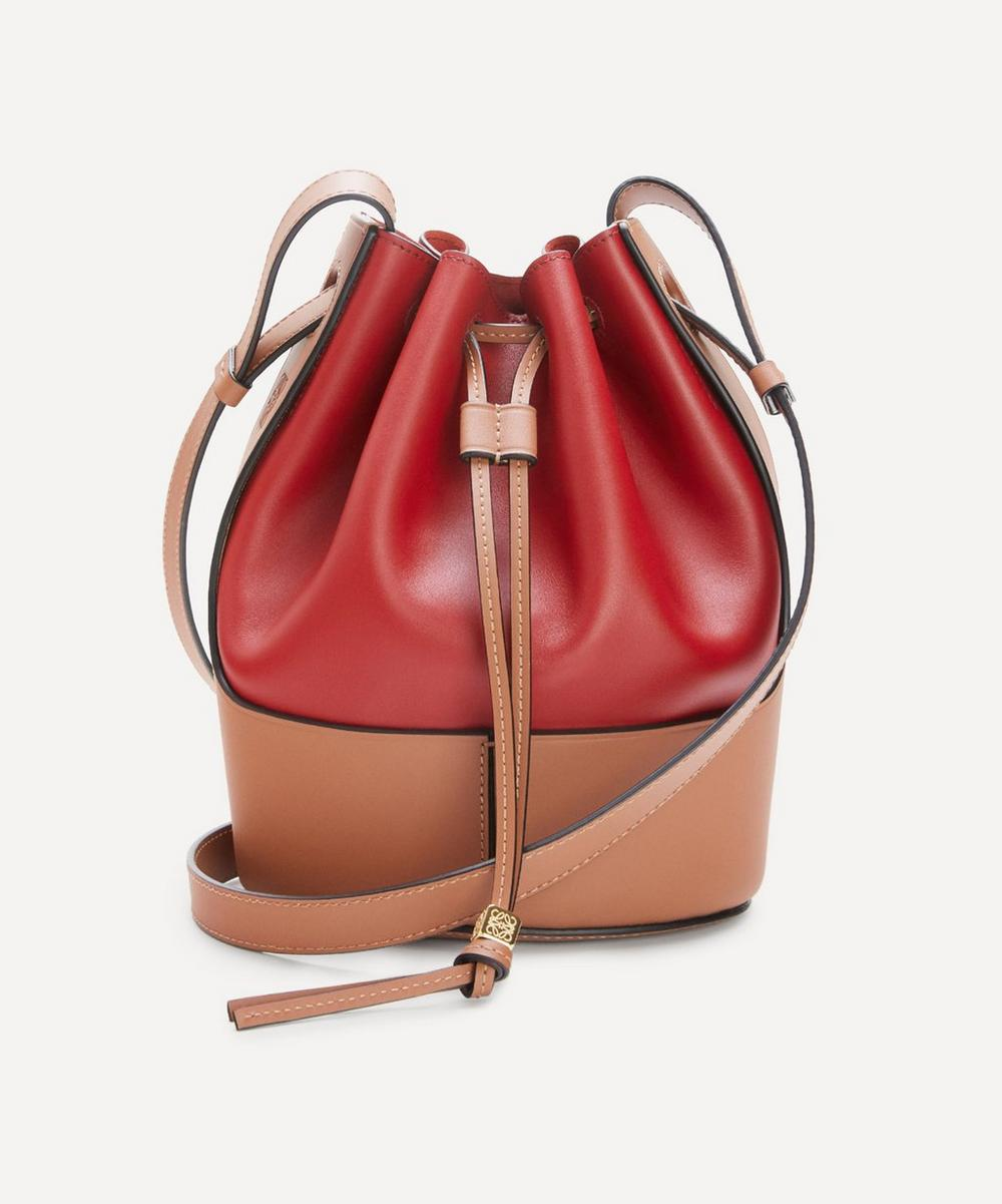 Loewe - Small Balloon Leather Bucket Bag