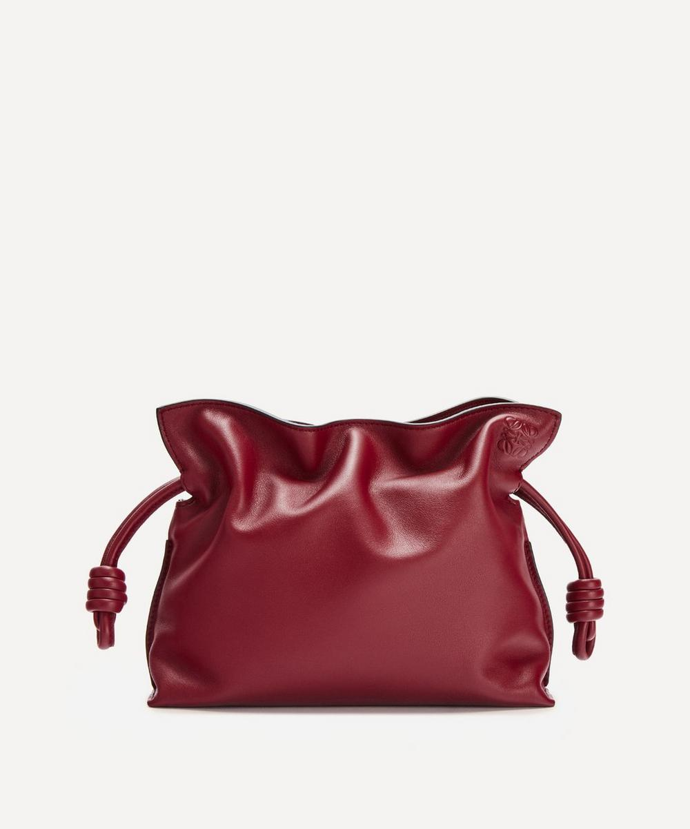 Loewe - Mini Flamenco Leather Clutch Bag