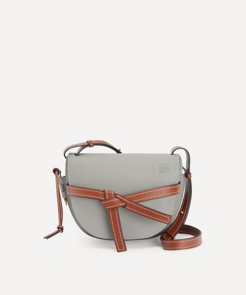 Loewe - Small Gate Leather Cross-Body Bag