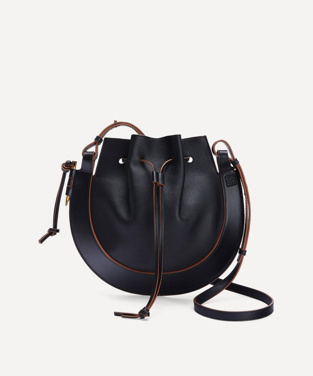 Loewe - Horseshoe Leather Saddle Bag