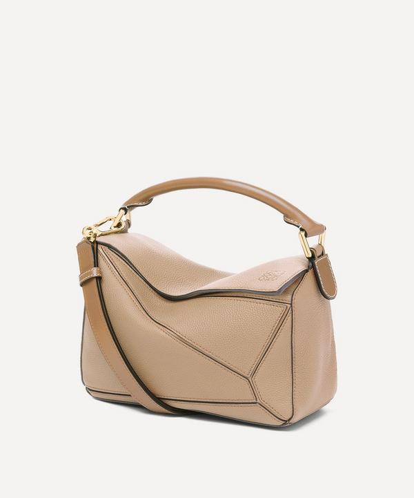 Loewe - Small Puzzle Leather Shoulder Bag