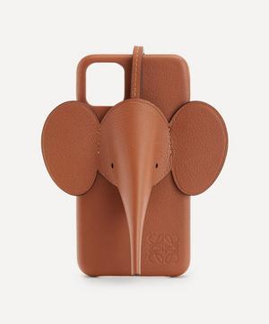 Elephant Leather iPhone 11 Case
