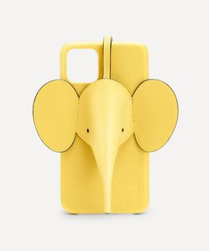 Elephant Leather iPhone 11 Case