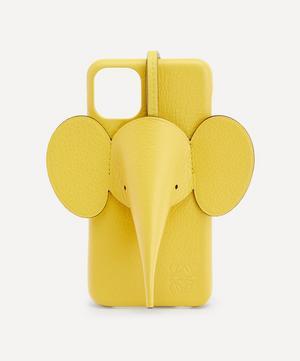 Elephant Leather iPhone 11 Pro Max Case