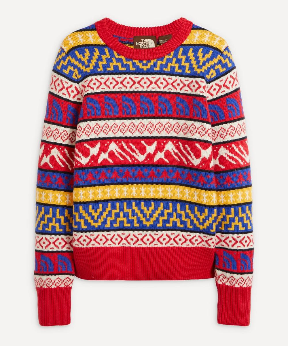 The North Face - Fair Isle Logo Wool Jumper