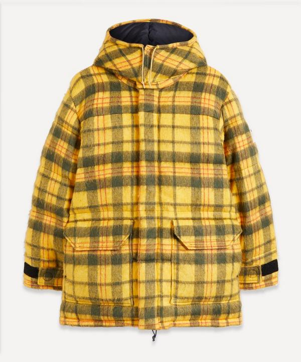 The North Face - Brown Label Heritage Plaid Down Parka