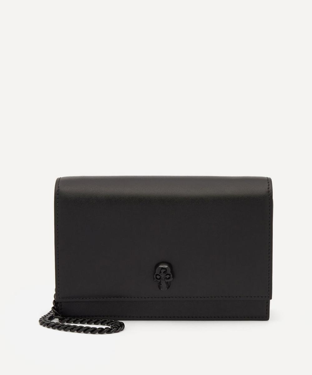 Alexander McQueen - Small Leather Skull Shoulder Bag