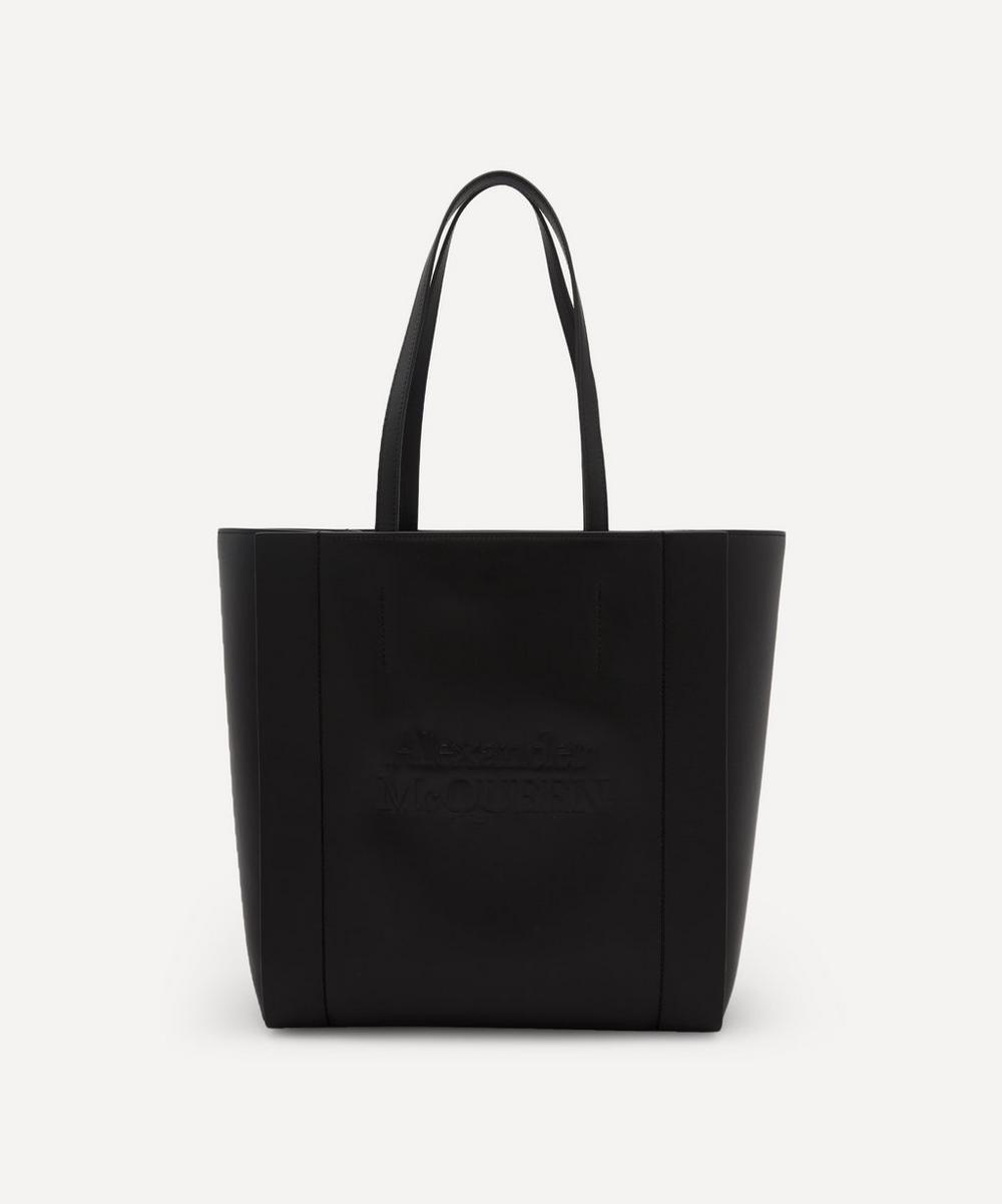 Alexander McQueen - Signature Shopper Leather Tote Bag