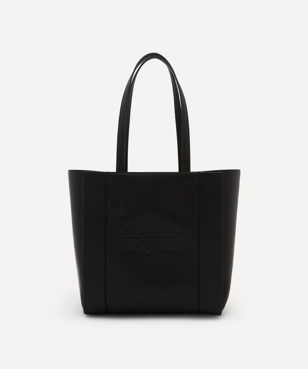 Alexander McQueen - Small Signature Shopper Leather Tote Bag