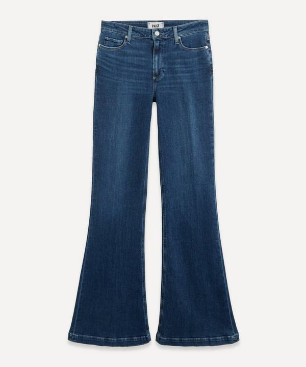 Paige - Genevieve High-Rise Flare Jeans